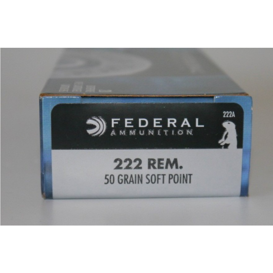 Federal Power Shok .222 Rem