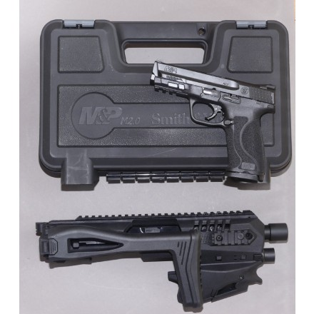 Smith & Wesson M&P 9 Range Kit - inkl Anschlagschaft