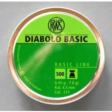 RWS Basic Diabolo 4,5 mm