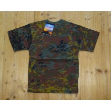 Kinder T-Shirt Flecktarn